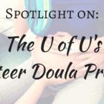 Spotlight on: The University of Utah's Volunteer Doula Program